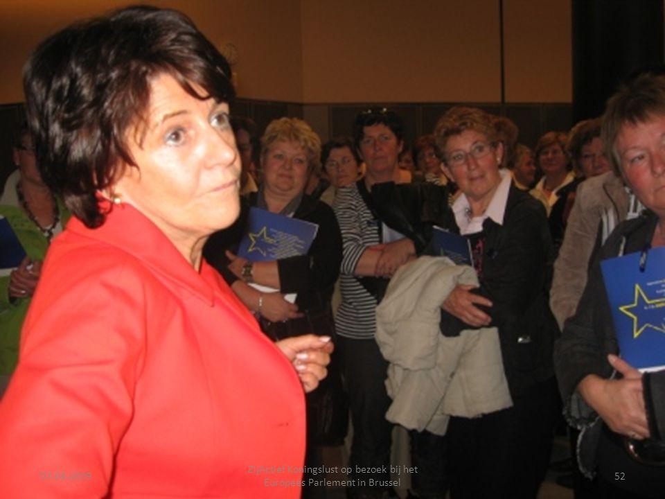07-04-2009 ZijActief Koningslust op bezoek bij het Europees Parlement in Brussel 52