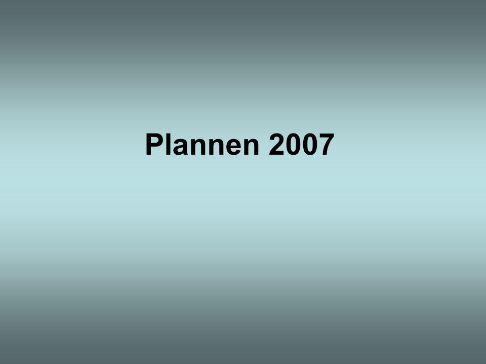 Plannen 2007