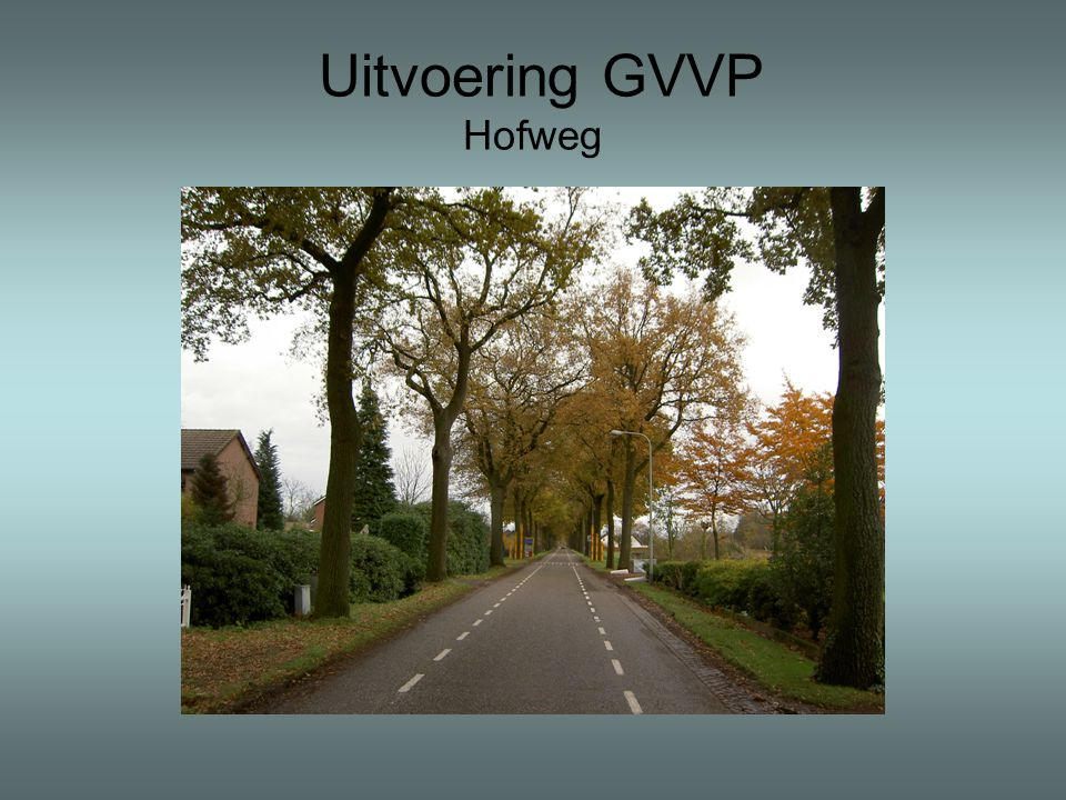 Uitvoering GVVP Hofweg