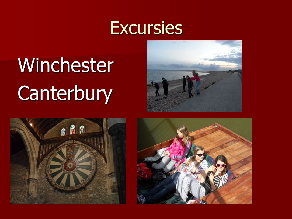 Excursies WinchesterCanterbury