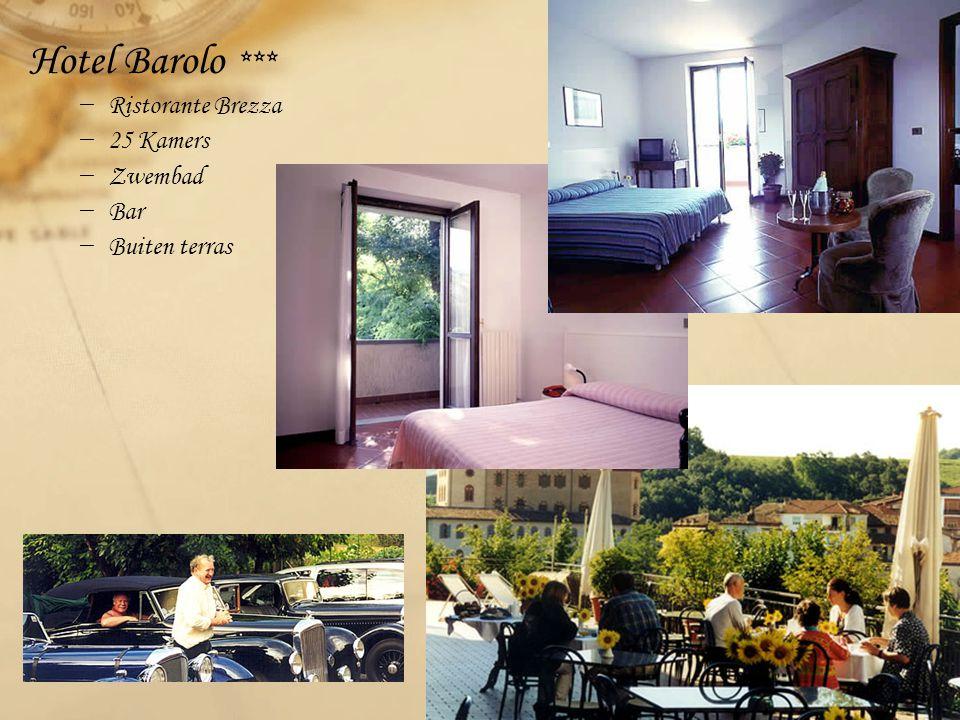 Hotel Barolo *** − Ristorante Brezza − 25 Kamers − Zwembad − Bar − Buiten terras