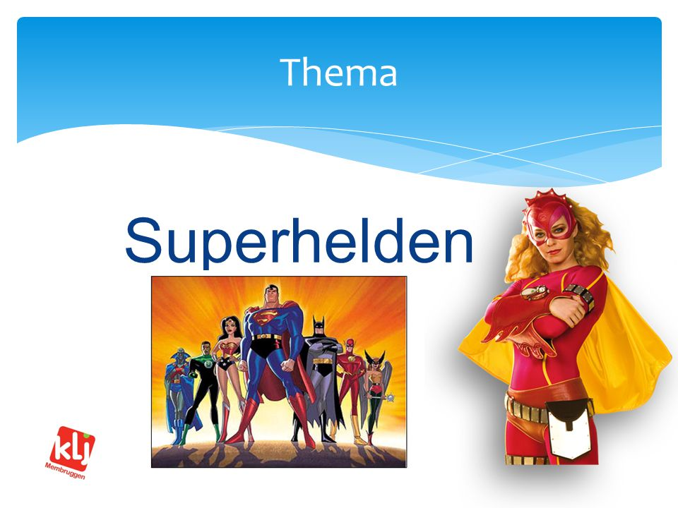 Superhelden Thema