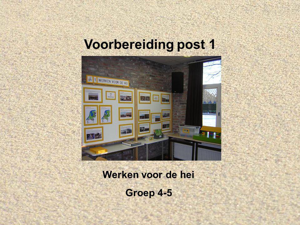 Welkom bij IVN Valkenswaard-Waalre Dit is de Powerpointserie als voorbereiding op post 1: Werken voor de hei, voor groep 4 en 5.