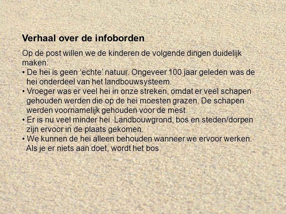 Linkerbord: Hei in Nederland Vertel eerst over de linkerkolom, dan over de rechterkolom.