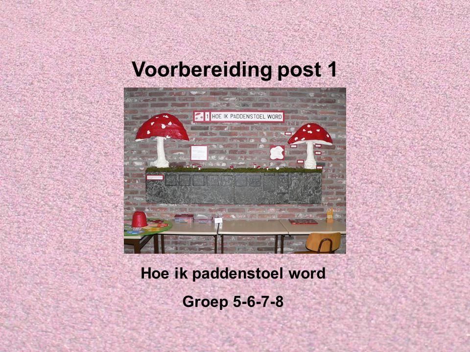 Welkom bij IVN Valkenswaard-Waalre Dit is de Powerpointserie als voorbereiding op post 1: Hoe ik paddenstoel word, voor groep 5, 6, 7 en 8.