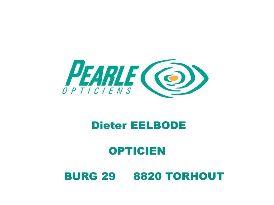 Dieter EELBODE OPTICIEN BURG 29 8820 TORHOUT