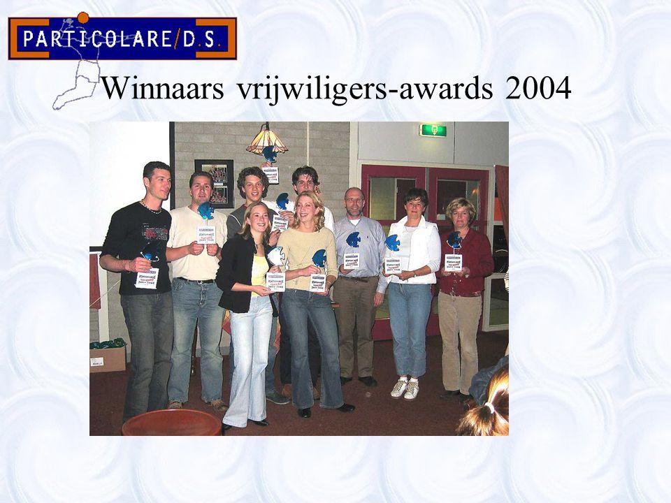 Winnaars vrijwiligers-awards 2004