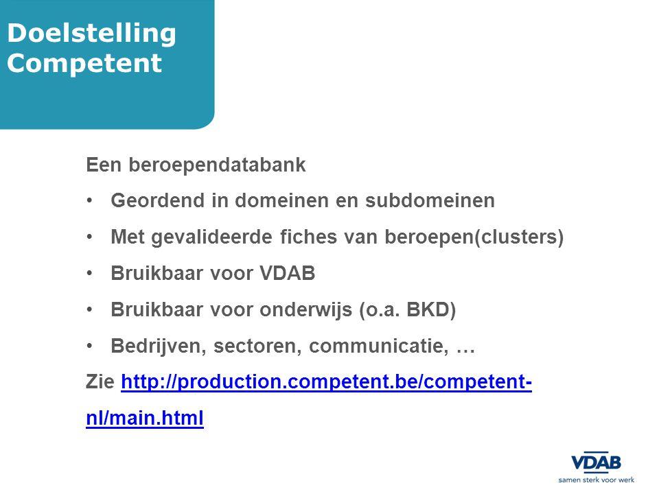Vlaamse kwalificatiestructuur (VKS) EQF (European Qualifications Framework).