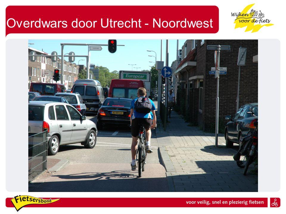 Overdwars door Utrecht - Noordwest