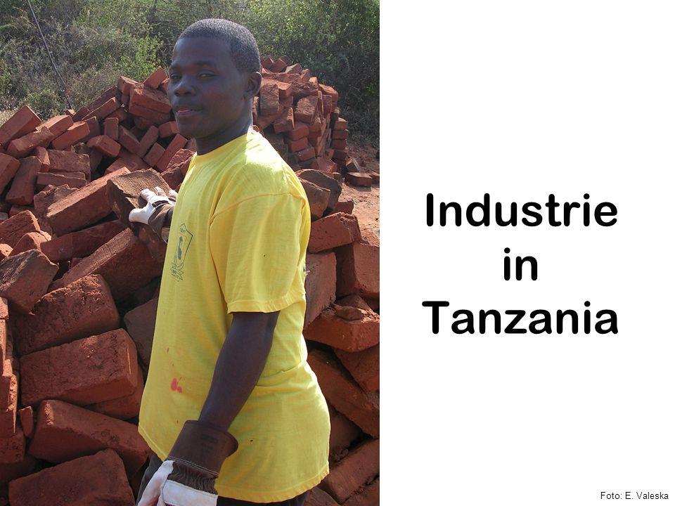 Industrie in Tanzania Foto: E. Valeska