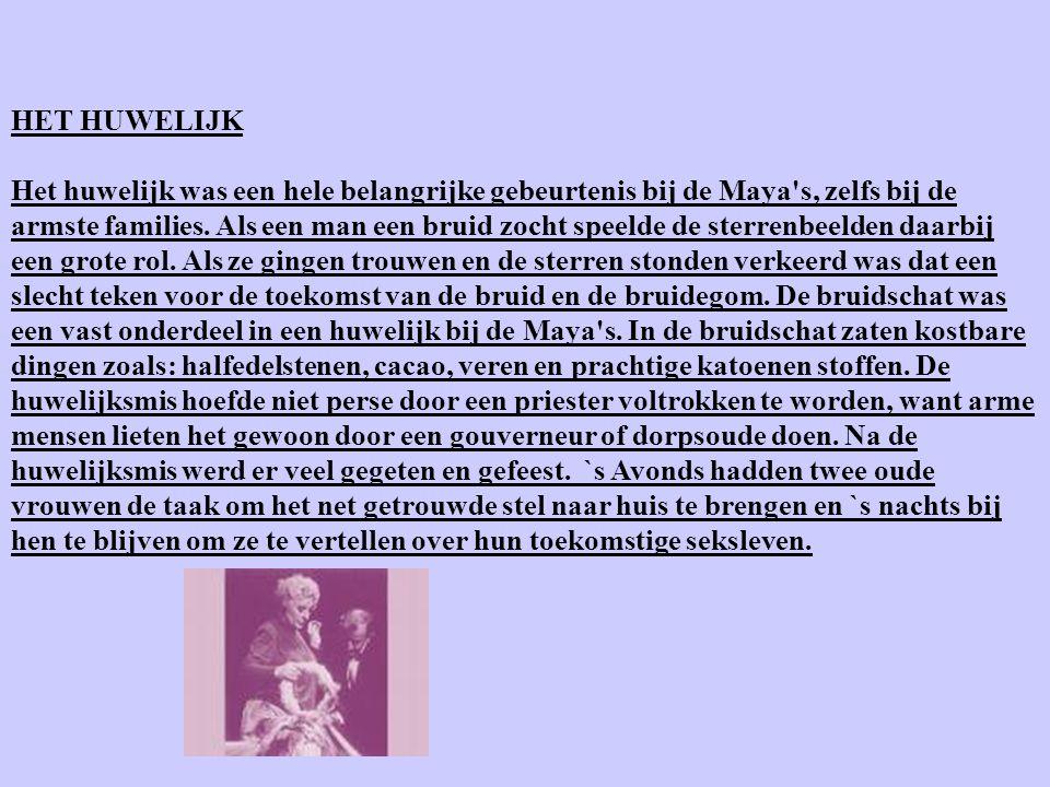 DE KLEDING Over de kleding van de Maya's is veel af te lezen van vaas- en muurschilderingen en beeldjes. Priesters, koningen en andere belangrijke men