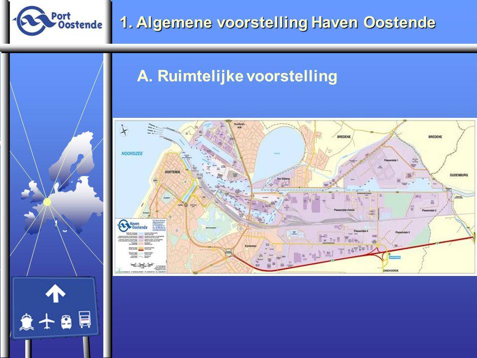1. Algemene voorstelling Haven Oostende A. Ruimtelijke voorstelling