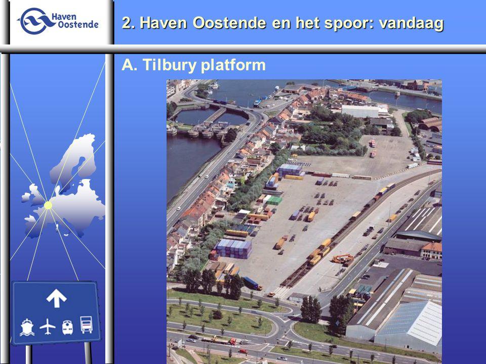 2. Haven Oostende en het spoor: vandaag A. Tilbury platform
