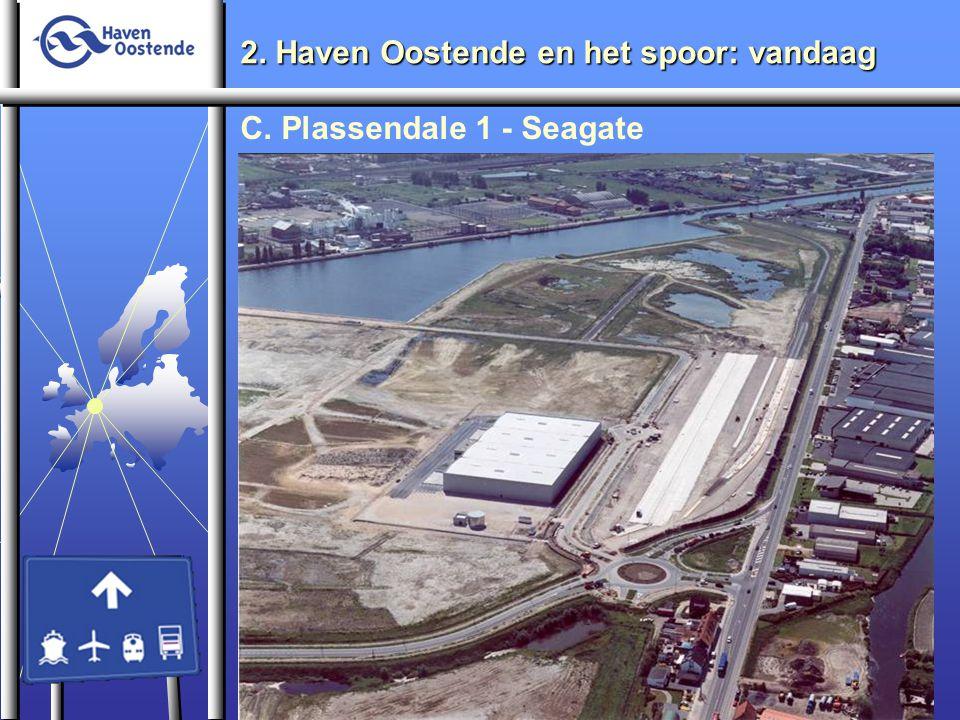 2. Haven Oostende en het spoor: vandaag C. Plassendale 1 - Seagate