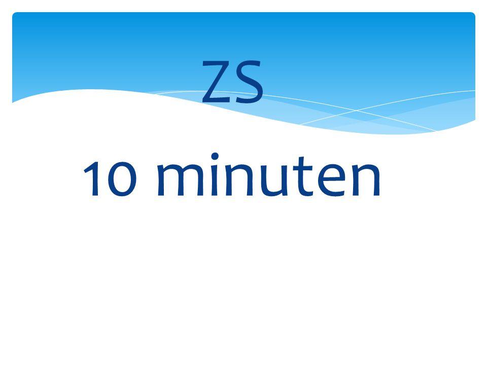 ZS 10 minuten