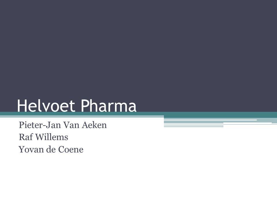 Helvoet Pharma Pieter-Jan Van Aeken Raf Willems Yovan de Coene