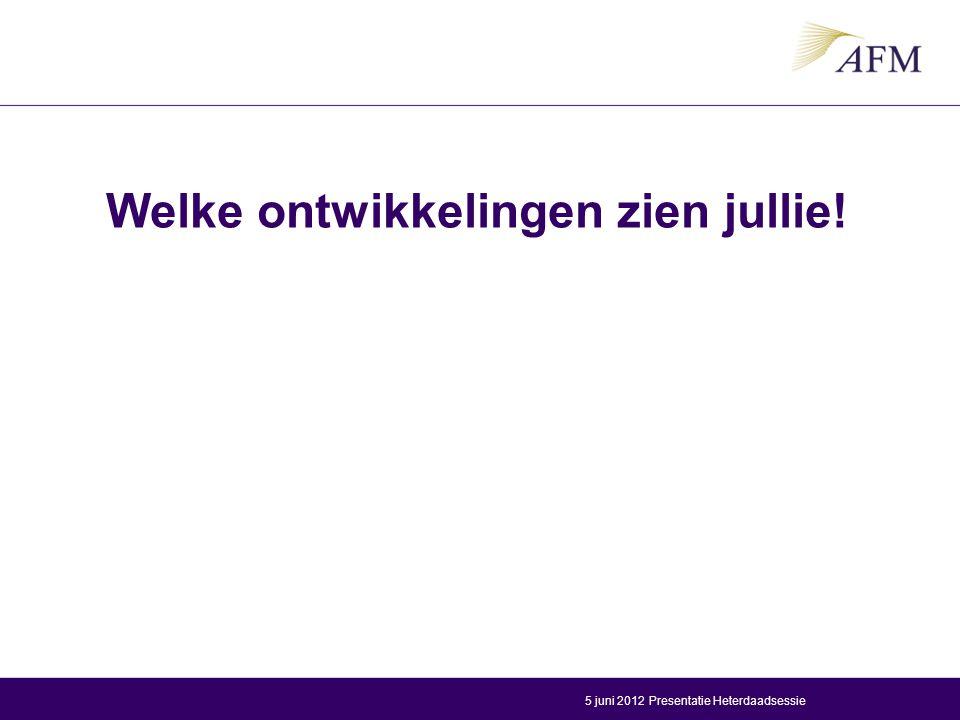 VRAGEN? Presentatie Heterdaadsessie5 juni 2012