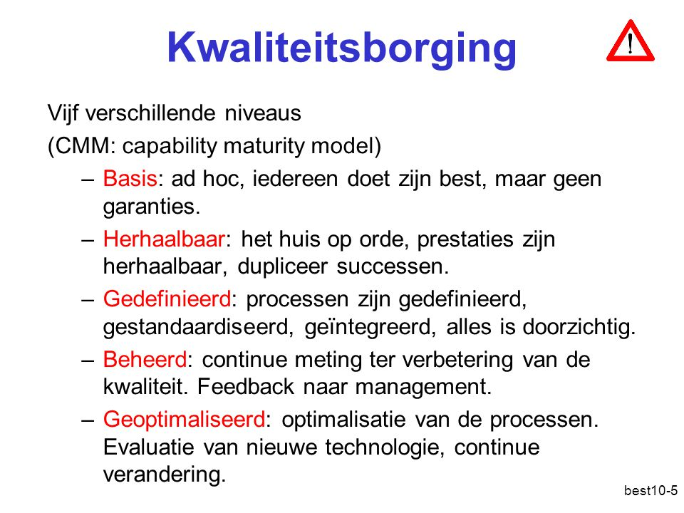 best10-36 Total Cost of Ownership ( TCO ) De totale kost van computerinfrastructuur: aankoop, installatie, onderhoud, enz.