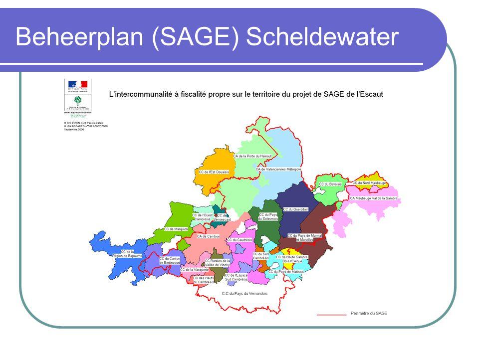 Beheerplan (SAGE) Scheldewater