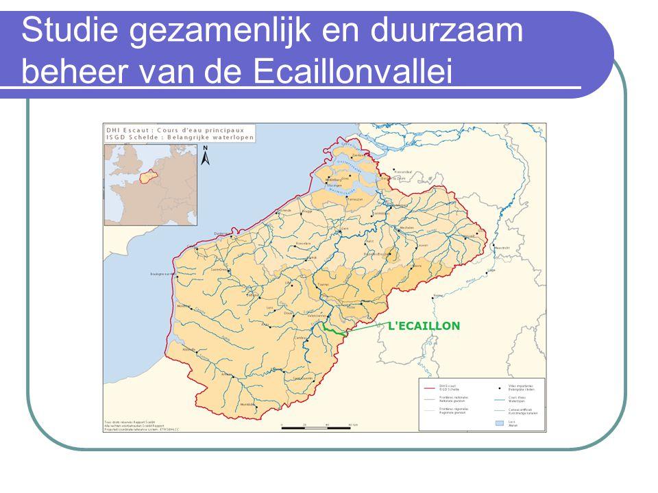 Studie gezamenlijk en duurzaam beheer van de Ecaillonvallei