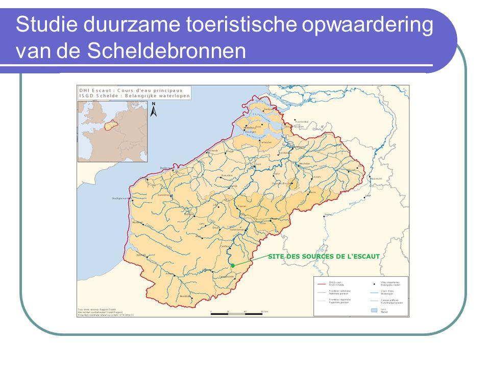 Studie duurzame toeristische opwaardering van de Scheldebronnen