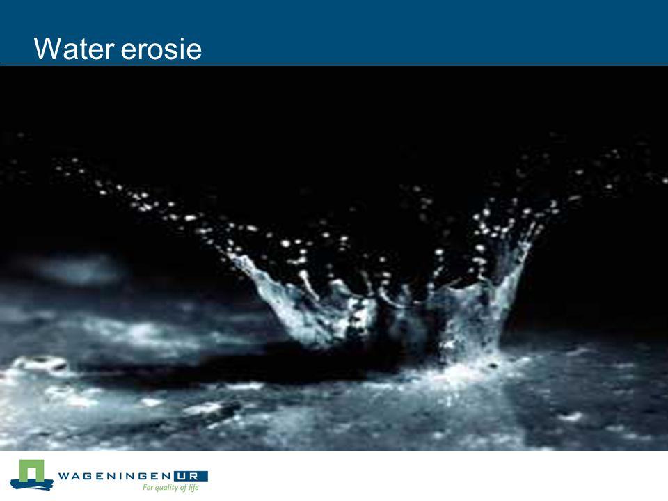 Water erosie