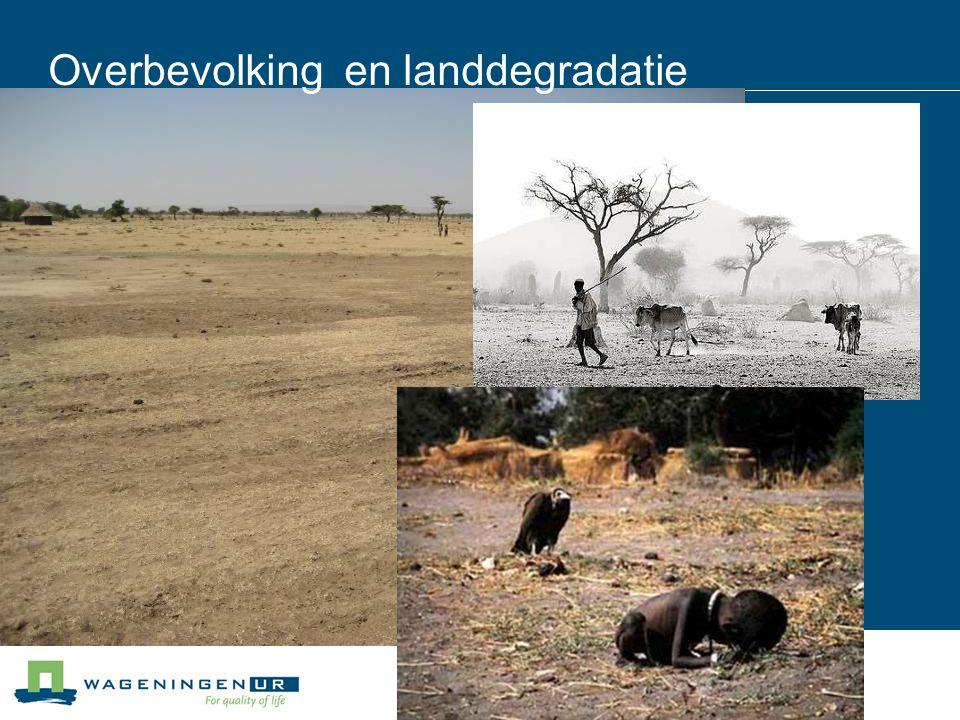 Overbevolking en landdegradatie