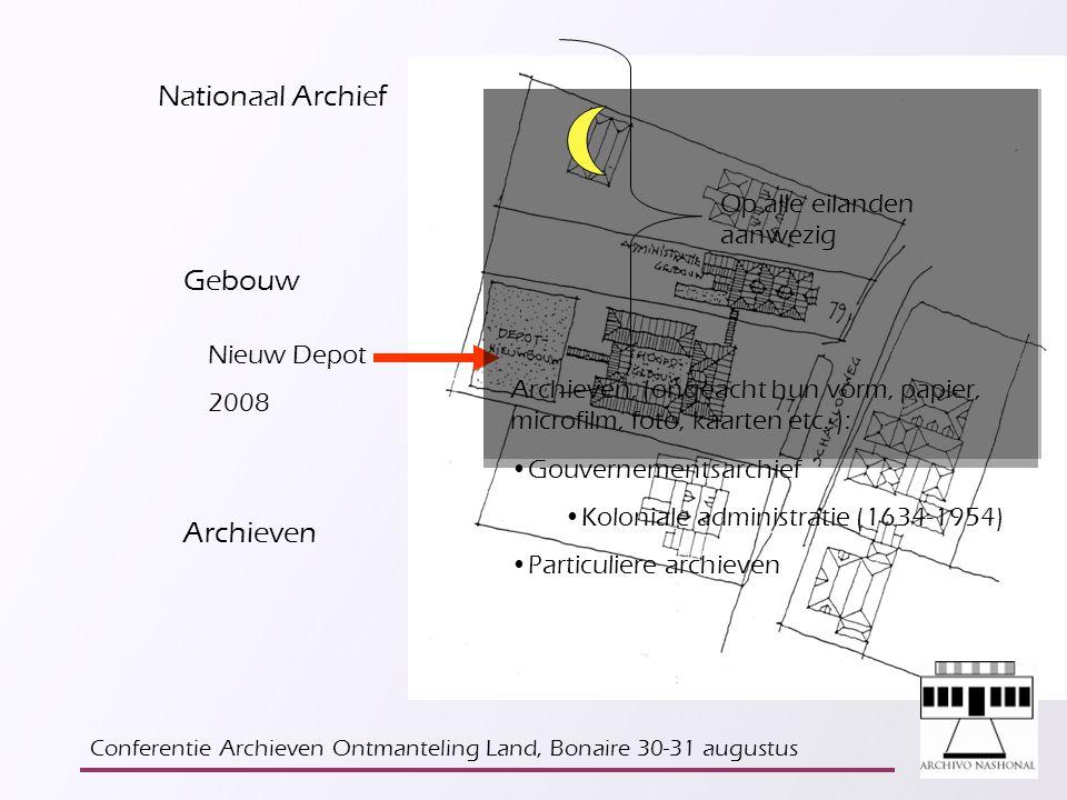 De archieven van de Nederlandse Antillen zullen decentraal beheerd worden St.