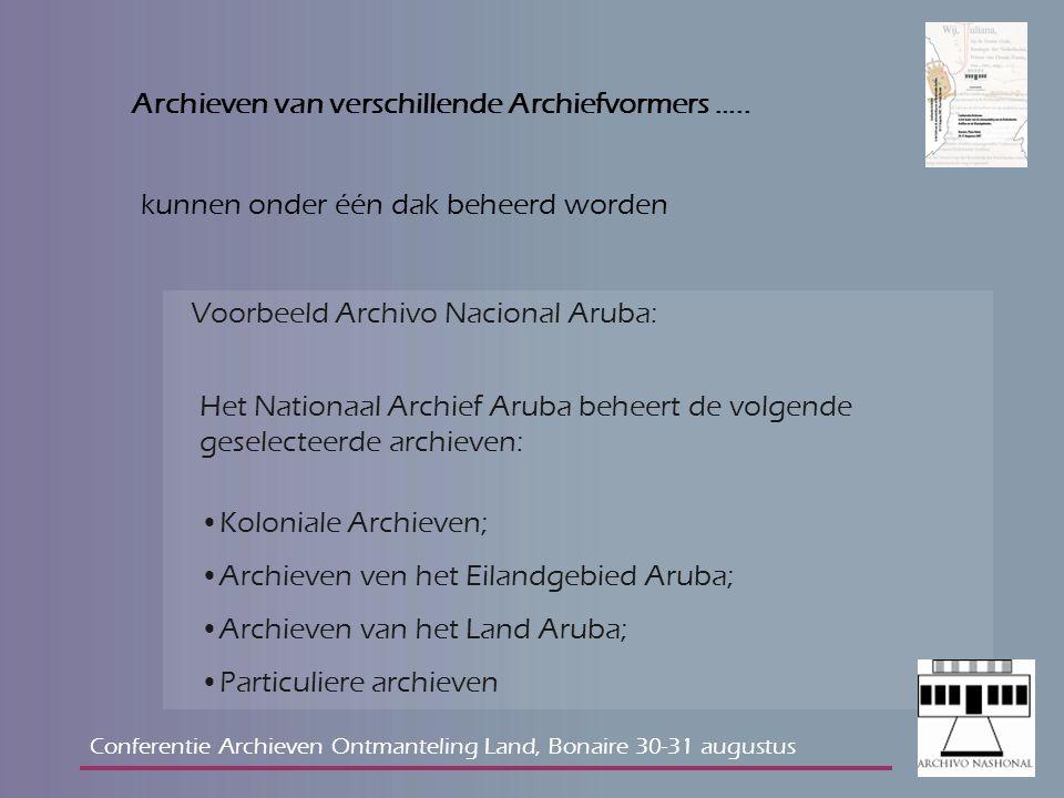 Wat moet er met de archieven van de Nederlandse Antillen gebeuren: De huidige archieflandsverordening gaat uit van een decentraal beheer (art.