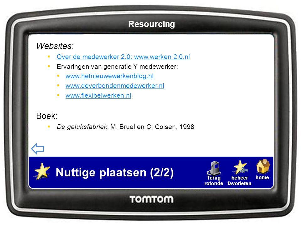 homebeheerfavorietenTerugrotonde Websites:  Over de medewerker 2.0: www.werken 2.0.nl Over de medewerker 2.0: www.werken 2.0.nl  Ervaringen van gene