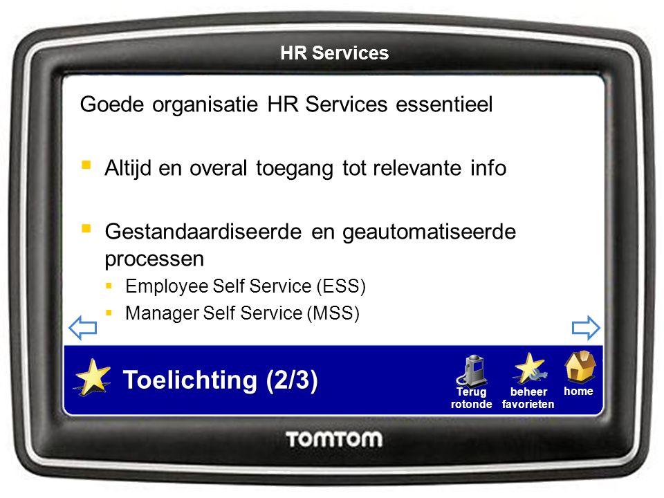 homebeheerfavorietenTerugrotonde Goede organisatie HR Services essentieel  Altijd en overal toegang tot relevante info  Gestandaardiseerde en geauto