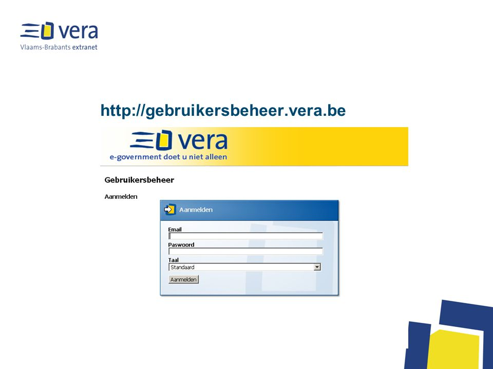 http://gebruikersbeheer.vera.be