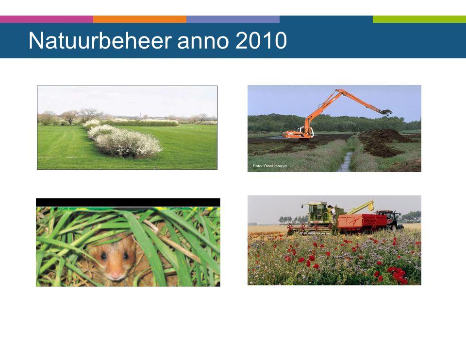 Natuurbeheer anno 2010