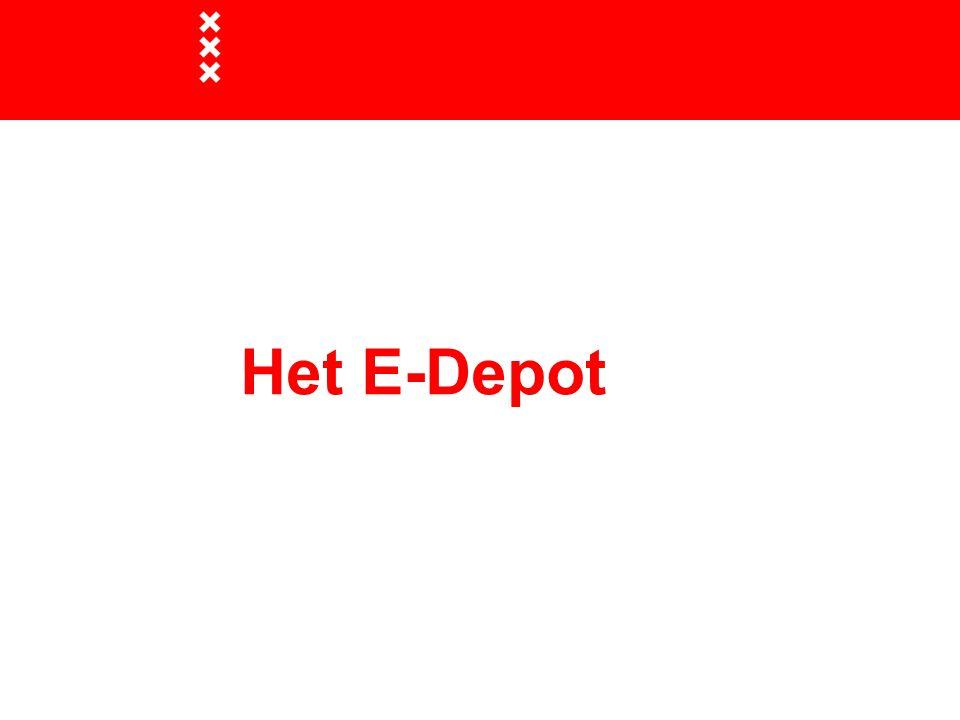 Het E-Depot