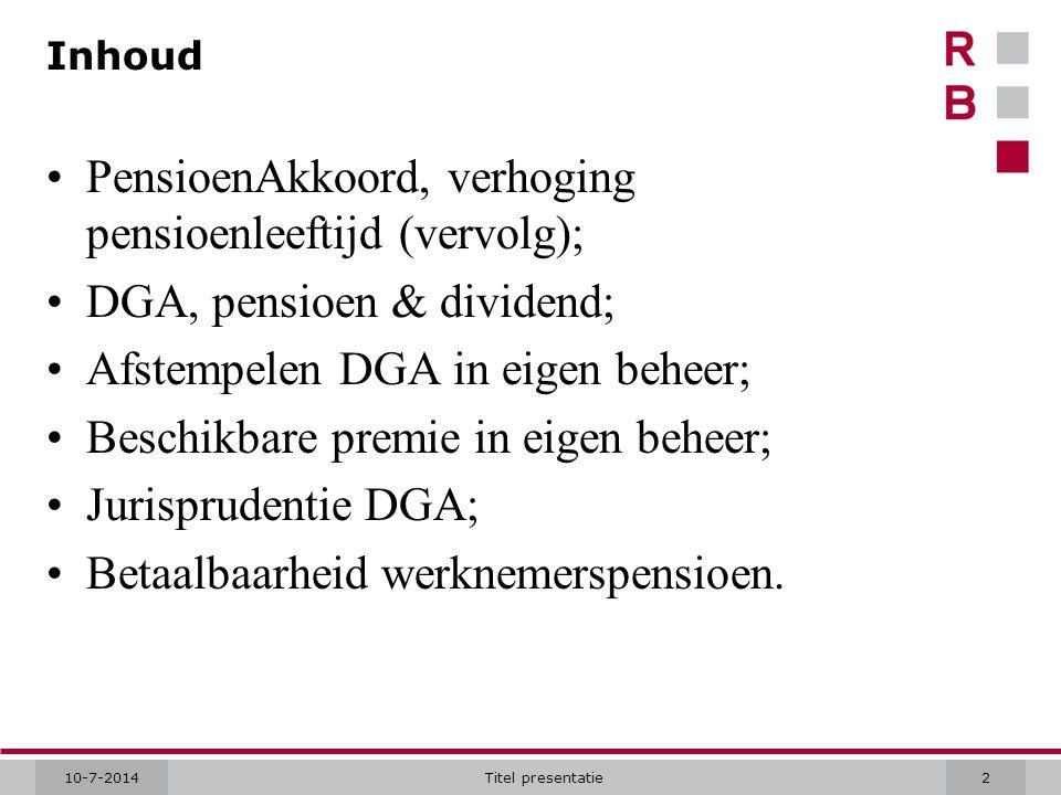 10-7-2014Titel presentatie. Hartelijk dank!