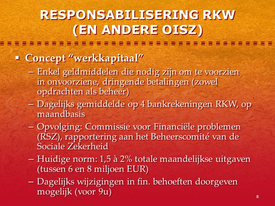 9  Begroting (opdrachten + beheer), enkele aanpassingen per jaar  Basis voor: − Financieel plan (uitgaven per maand) − Financieel plan (uitgaven per maand opgesplitst per dag) − Maandelijkse aanpassing Financiële plannen doorgestuurd naar RSZ  Begroting (opdrachten + beheer), enkele aanpassingen per jaar  Basis voor: − Financieel plan (uitgaven per maand) − Financieel plan (uitgaven per maand opgesplitst per dag) − Maandelijkse aanpassing Financiële plannen doorgestuurd naar RSZ CYCLUS