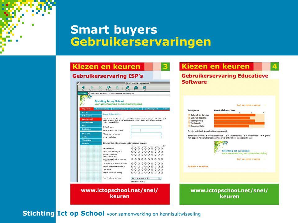 Smart buyers Gebruikerservaringen