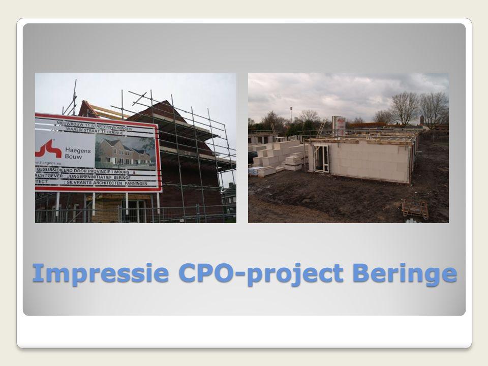 Impressie CPO-project Beringe