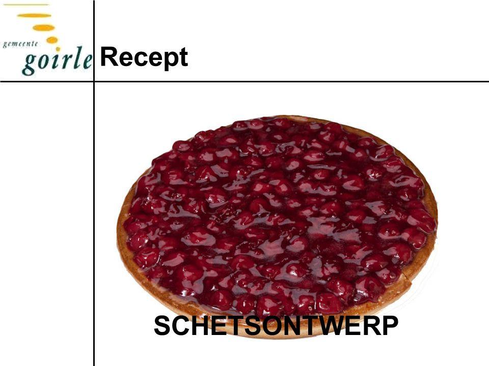Recept SCHETSONTWERP