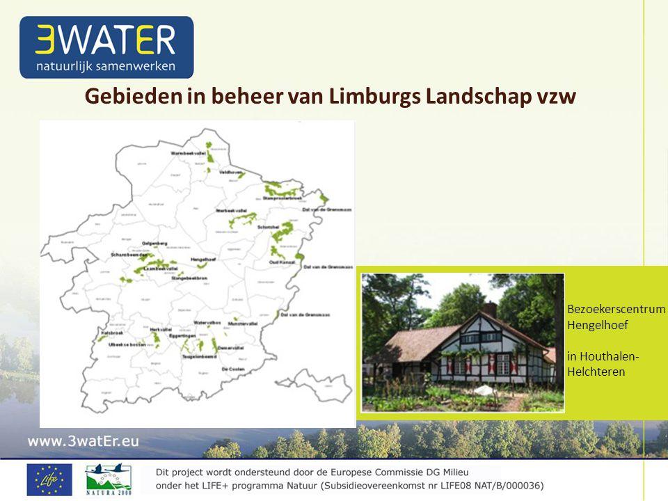 Gebieden in beheer van Limburgs Landschap vzw Bezoekerscentrum Hengelhoef in Houthalen- Helchteren