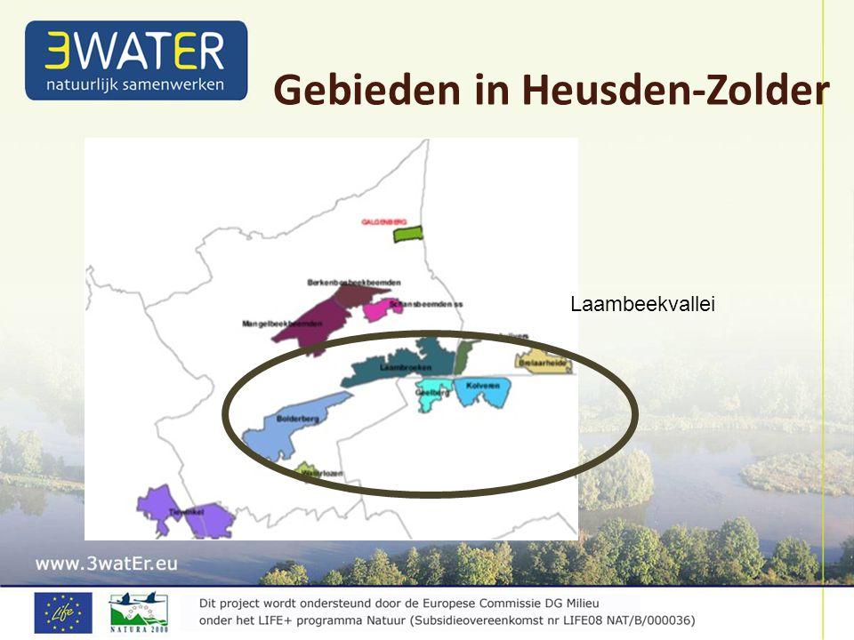 Gebieden in Heusden-Zolder Laambeekvallei