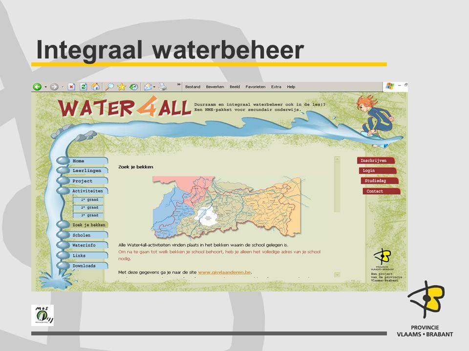 Waterstroom beheersen: TEGENHOUDEN