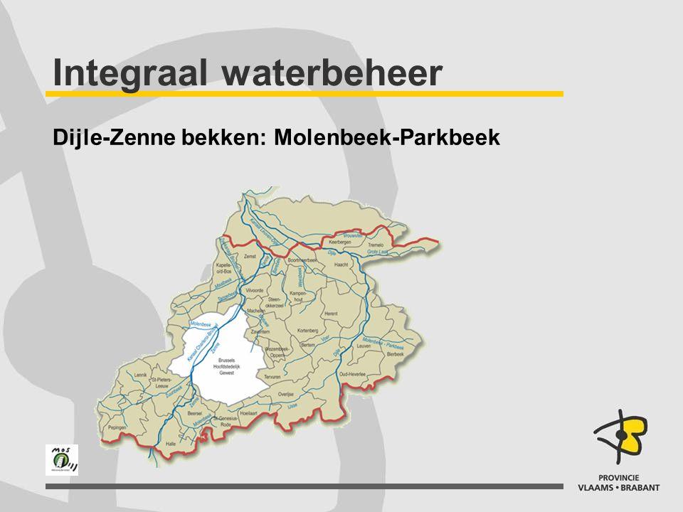 Integraal waterbeheer Bekkenbeheerplan Bekkenraad geeft advies Ambtenaren en wateractoren Consensus of compromis