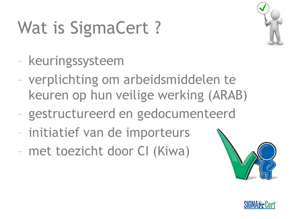 Wat is SigmaCert .