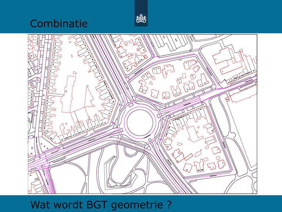 Combinatie Wat wordt BGT geometrie ?