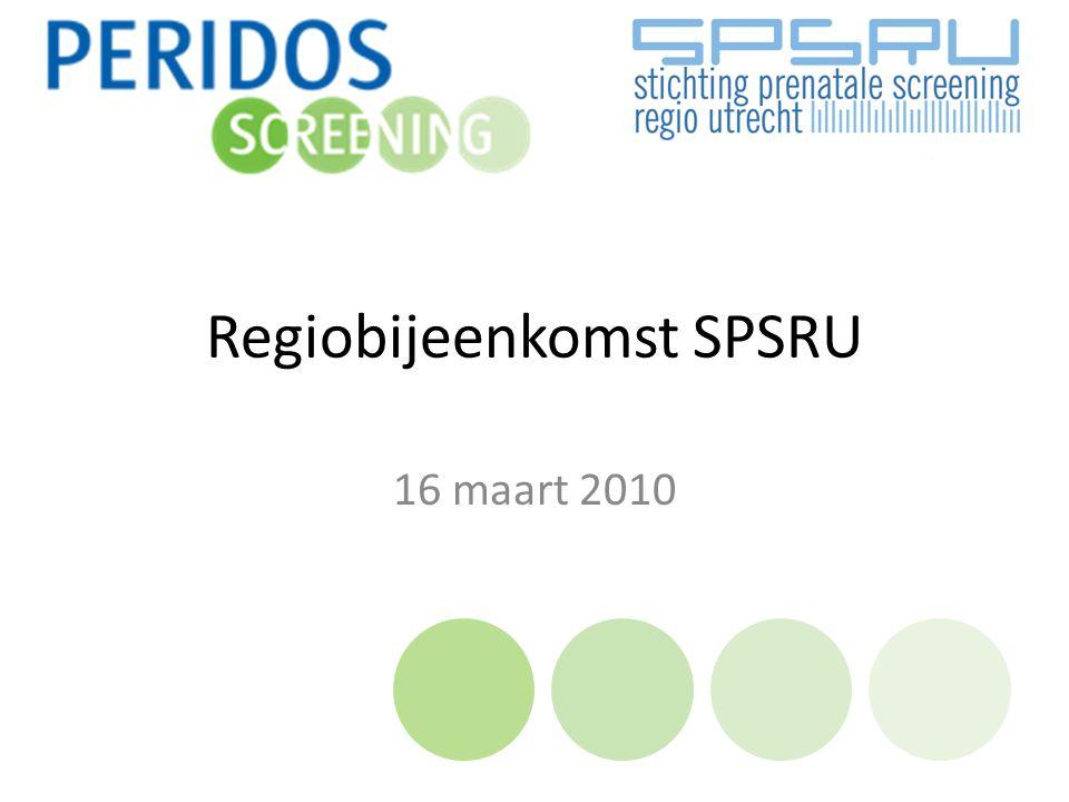Regiobijeenkomst SPSRU 16 maart 2010