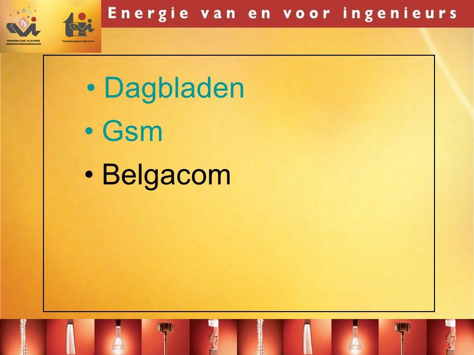 Dagbladen Gsm Belgacom