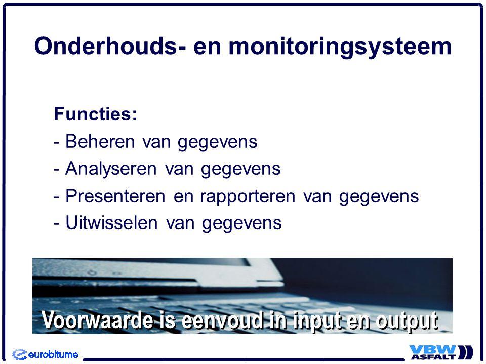 Geo-informatie Geo-informatie steeds belangrijker voor de uitvoering van beheer.