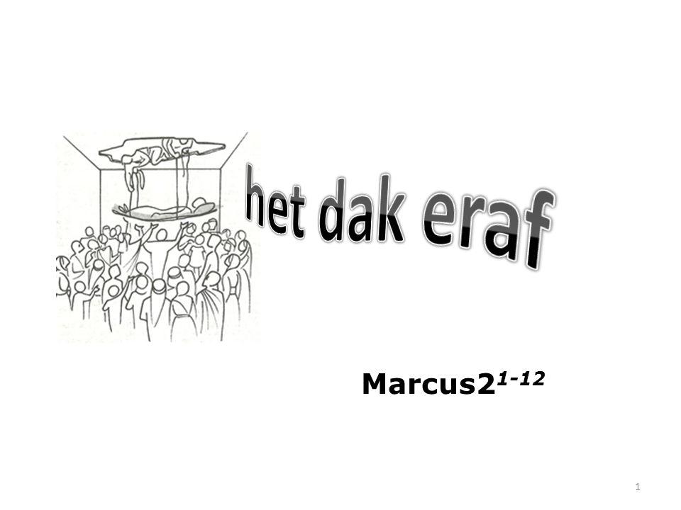 Marcus 2 1 En toen Hij weder te Kafarnaum gekomen was, hoorde men na enige dagen, dat Hij thuis was.
