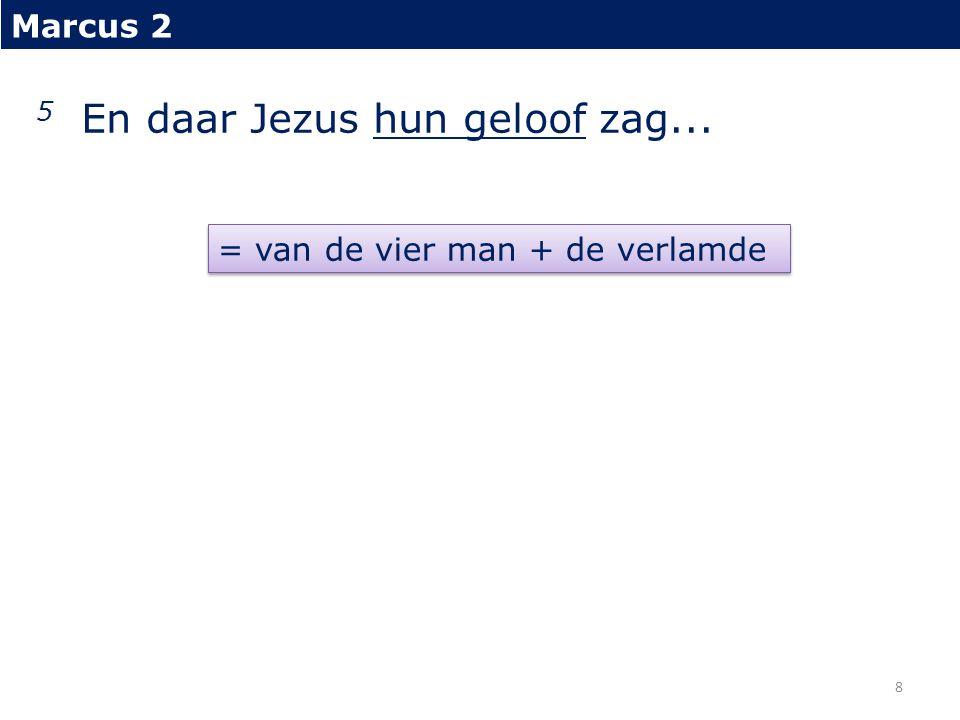 Marcus 2 5...zeide Hij tot de verlamde: Kind, uw zonden worden vergeven.